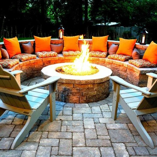 Outdoor fire pits-Tampa Bay FL Outdoor Living & Designs-We offer Landscape Design, Outdoor Patios & Pergolas, Outdoor Living Spaces, Stonescapes, Residential & Commercial Landscaping, Irrigation Installation & Repairs, Drainage Systems, Landscape Lighting, Outdoor Living Spaces, Tree Service, Lawn Service, and more.